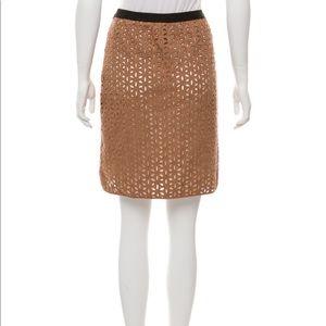 Derek Lam Knit Overlay Skirt 6